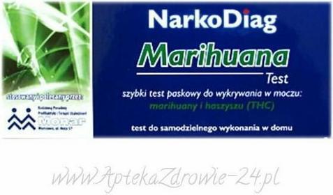 Diagnosis S.A. NARKODIAG Marihuana Test do wykrywania narkotyków w moczu 9046126