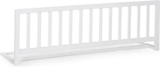 Childhome Drewniana barierka do łóżka, biała,