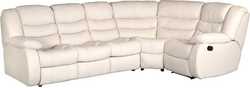 Resto Design Narożnik DISS 3F/N/1M fotel RELAX skóra naturalna