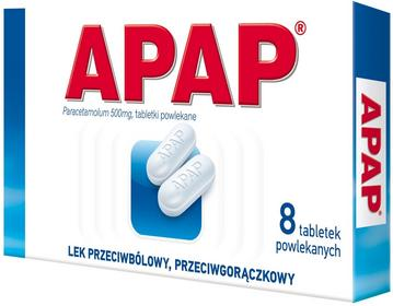 US Pharmacia Apap 500mg 8 szt.