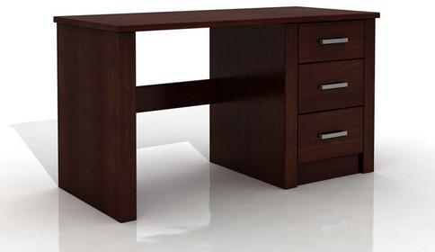 biurko sosnowe Visby Largo 3S