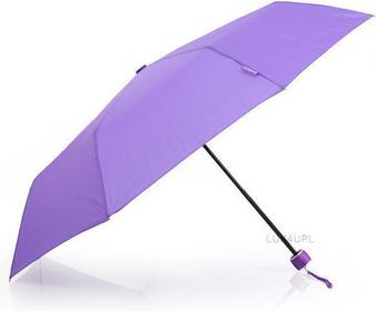 MiniMAX Parasolka damska składana Impliva - fioletowy LGF-202/814C