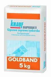 Knauf Tynk gipsowy Goldband 5 kg