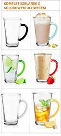 Glasmark Szklanki Latte Do Kawy Herbaty komplet 6szt