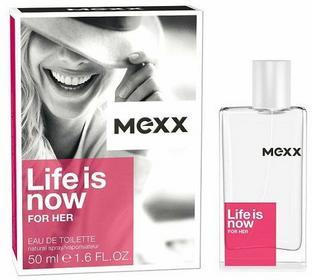 Mexx Life Is Now For Her Woda toaletowa 50ml