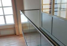 Drzwi szklane, balustrady, lustra