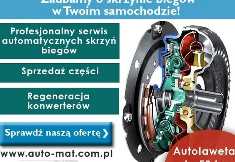 automatyczne skrzynie biegów - AutoMat Sentyrz Automatyc... zdjęcie 1