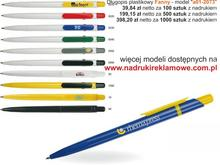 Długopisy reklamowe.