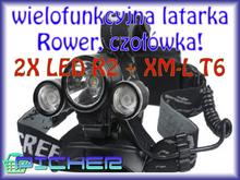 Y26 Latarka rowerowa czołowa CREE LED XML-T6