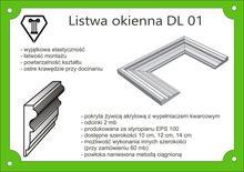 Listwy okienne szerokość 10cm DL
