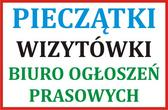 Pieczątki - Wizytówki - Biuro Ogłoszeń Prasowych