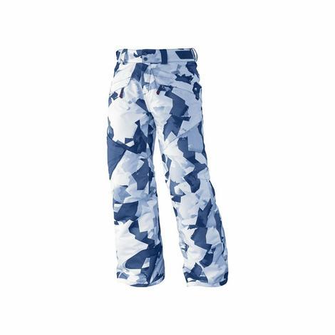 Inspirowane klimatem freeski spodnie dla dzieci, z kieszeniami typu cargo, w których zmieści się wszystko, co podwinie się pod rękę.