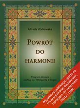 """Książka """"Powrót do harmonii"""" dr Alfreda Walkowska"""