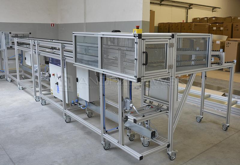 systemy aluminiowe - ANDRZEJEWSKI - linie prod... zdjęcie 5
