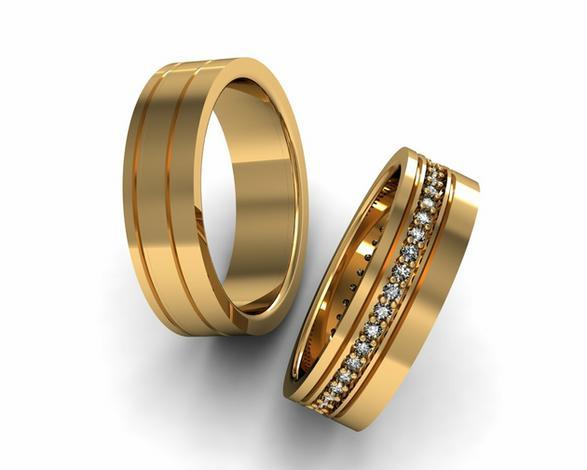 biżuteria srebrna - Jubiler Kłosok - obrączki... zdjęcie 1