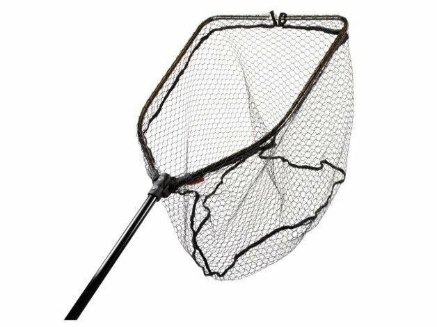DLT Predator Specialist Net to solidny podbierak z gumowaną siatką przeznaczony do podbierania drapieżników