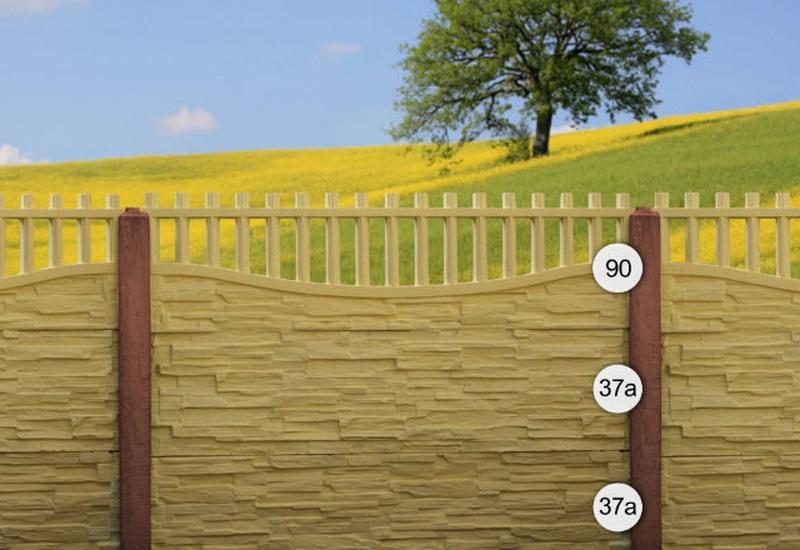 Formy do ogrodzeń betonowych