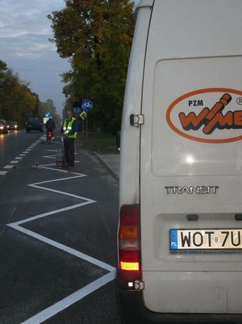 urządzenia parkingowe - PZM Wimet Józefów. Znaki ... zdjęcie 6
