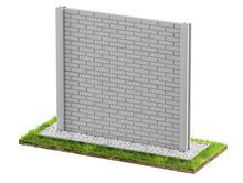 Ogrodzenia betonowe jednostronne