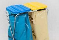 artykuły gospodarstwa domowego, stojaki na worki do segregacji odpadów, popielnice
