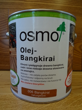 Osmo Bangkirai 006 (2,5l)