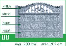 ogrodzenie betonowe - MP POLRAJ - ozdobne płoty... zdjęcie 10