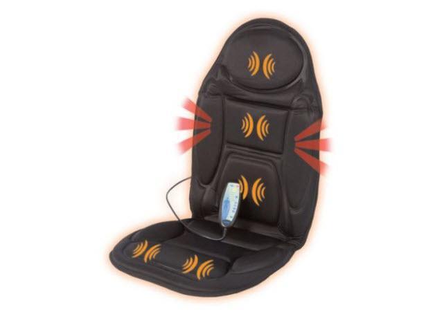 Mata oferuje masaż wibracyjny – cyrkulacyjny, uderzający i całościowy. Pozwala zrelaksować się, zmniejsza napięcie i bóle mięśniowe.