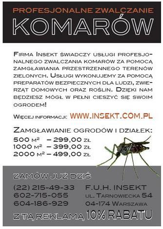 usuwanie - Insekt FUH zdjęcie 2