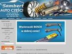 Sklep motoryzacyjny SAMBERT - części samochodowe, akcesoria samochodowe, oleje, filtry, śląsk