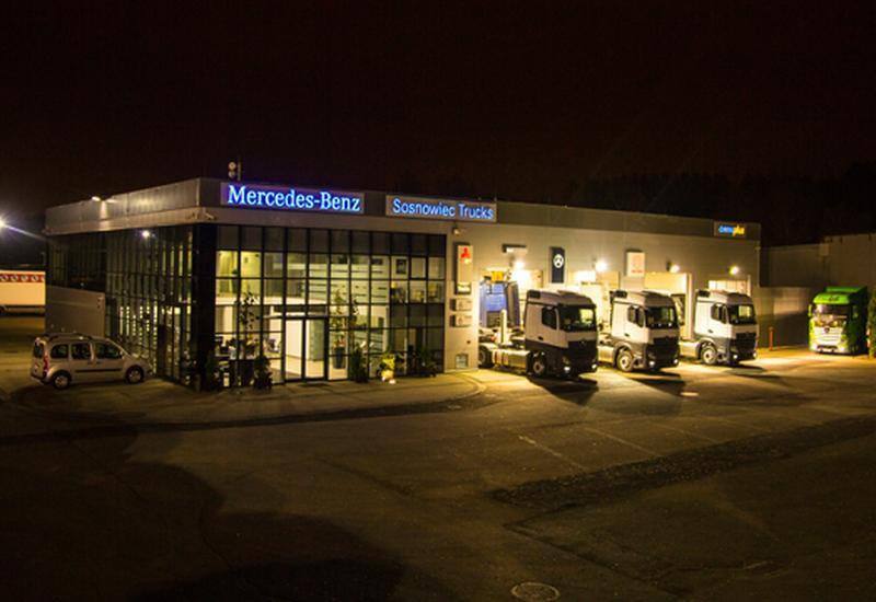 mercedes samochody ciężarowe - Mercedes-Benz Sosnowiec T... zdjęcie 1