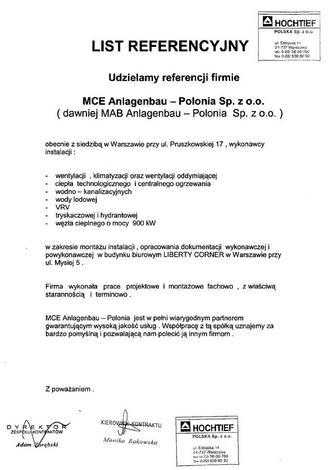 testy regeneracji - YIT Poland - Biuro serwis... zdjęcie 10