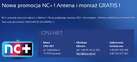 Cpu-Net - Internet, anteny, telewizja cyfrowa