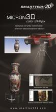 Skaner 3D Micron3D  color 24 Mpix