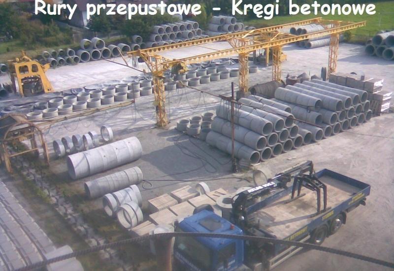 sprzedaż - RUR-BET - rury, kręgi, pr... zdjęcie 1