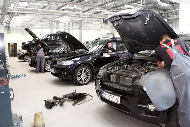 mini serwis - BMW Inchcape Motor - salo... zdjęcie 10