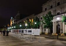 Realizacja wystaw - zewnętrzny system wystawienniczy, profile aluminiowe - wystawa Wiktora Wołkowa