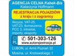 AutoRejestracje Kabek-Bis K. Hoffmann
