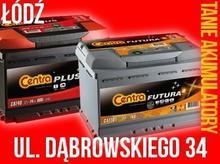 Akumulator Centra Plus 60AH/540A Akumulatory Łódź
