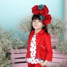 Wdzianko czerwone na sukienkę