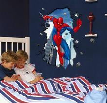Naklejki na ścianę Spiderman