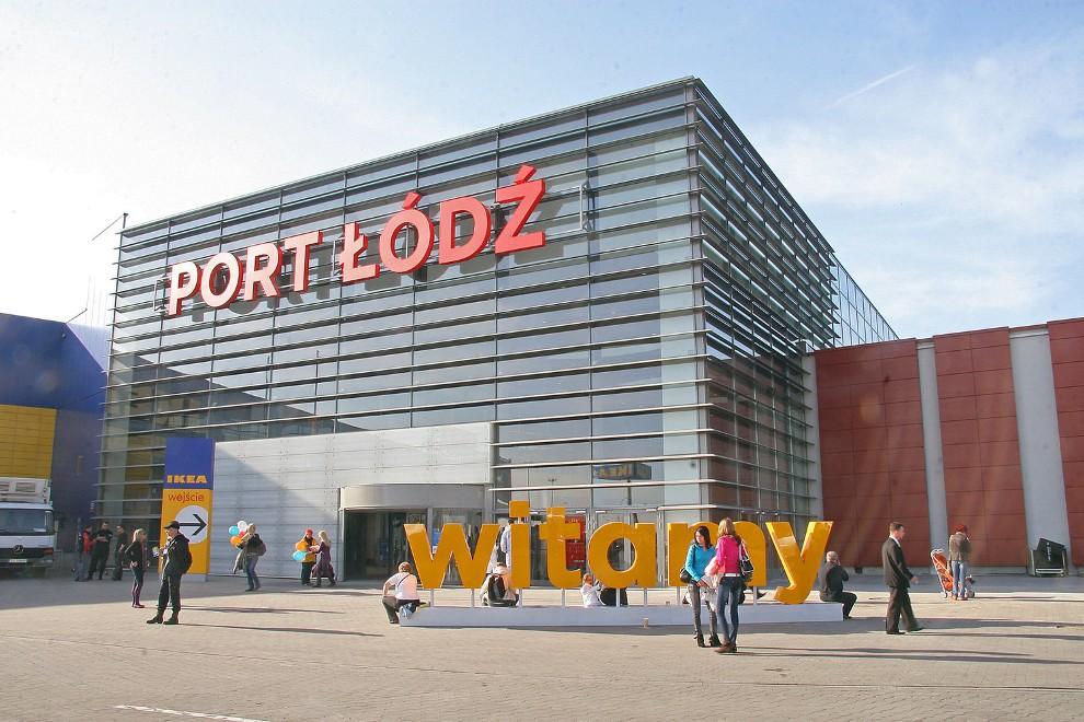 Port Łódź centrum handlowe, galeria handlowa sklep
