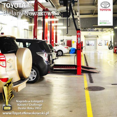 serwis samochodów toyota - Toyota Bielany Nowakowski zdjęcie 7