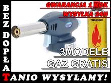 Y37 PALNIK GAZOWY LUTLAMPA AUTO ZAPŁON +GAZ GRATIS