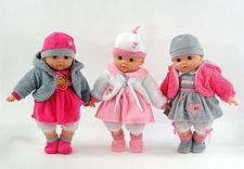 zabawki ,lalki,lalka mówi ,śpiewa ,plecaczki,klocki