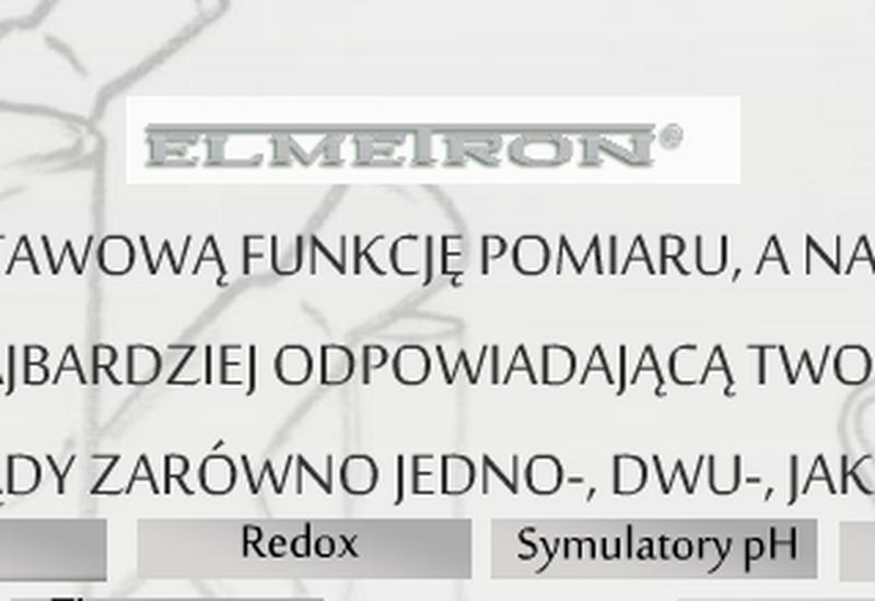 tlen - Producent pHmetrów Elmetr... zdjęcie 1