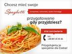 Spaghetteria. Restauracja, Kuchnia Włoska