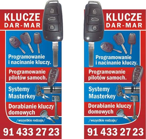 klucze samochodowe - DAR-MAR Dorabianie kluczy zdjęcie 2