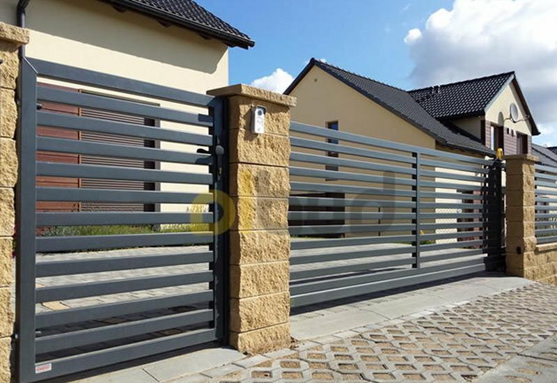 żaluzyjne - Olbud - bramy ogrodzenia zdjęcie 5