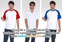 Koszulki reklamowe.