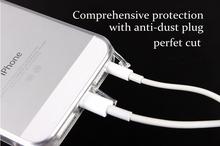 Transparent Pokrowiec Etui do iPhone 5 5s +Folia
